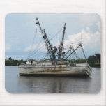 Shrimp Boat Mousepad