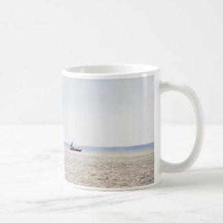 Shrimp Boat Classic White Coffee Mug