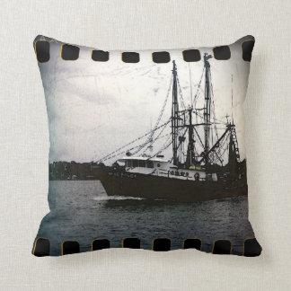 shrimp boat throw pillows