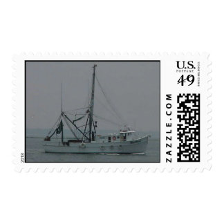 shrimp boat stamp
