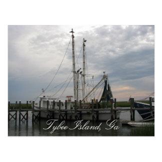 Shrimp Boat Postcards