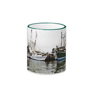 Shrimp Boat print mug