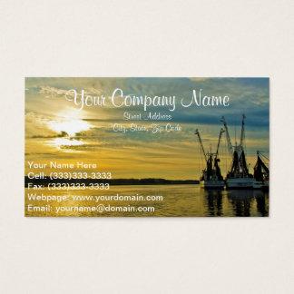 Shrimp Boat Trawlers Business Card