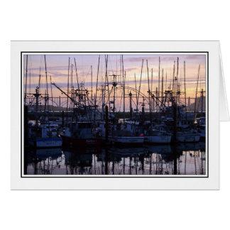 Shrimp Boats Card