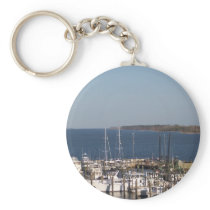 Shrimp boats keychain