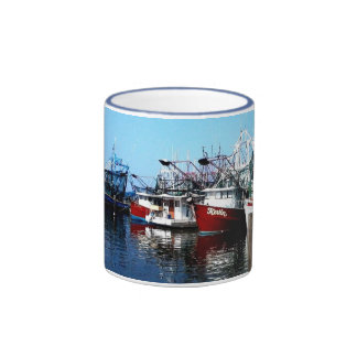 Shrimp Boats Ringer Coffee Mug