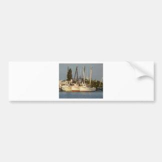 Shrimp Boats x three Bumper Sticker