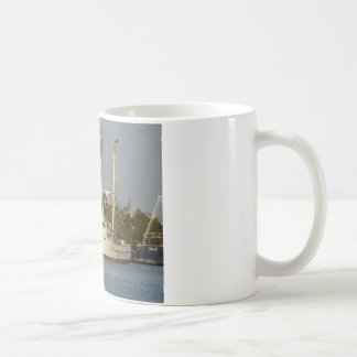 Shrimp Boats x three Classic White Coffee Mug