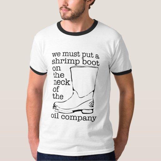 Shrimp Boot in Solidarity T-Shirt