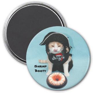 Shrimp Booty Magnet