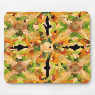 Shrimp, broccoli and peppers - Embossed - 2282 Mouse Pad