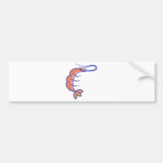 Shrimp Bumper Sticker