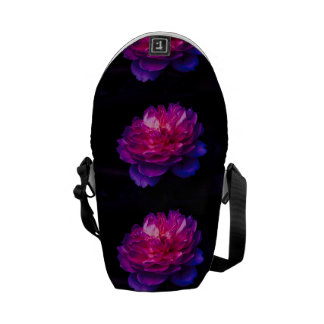 Shrimp Climbing An Anemone Messenger Bag