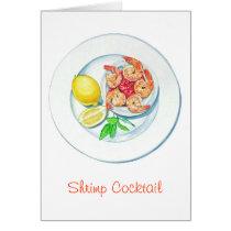 Shrimp Cocktail Card
