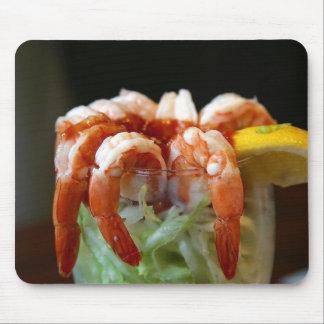Shrimp Cocktail Lemons Lettuce Seafood Mousepad