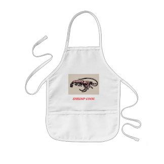 SHRIMP COOK KIDS' APRON