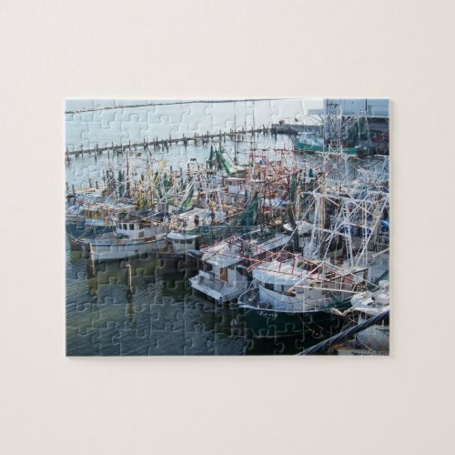 Shrimp Fleet Jigsaw Puzzle