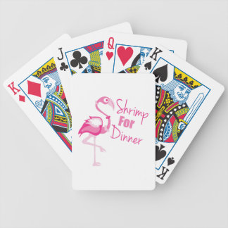 Shrimp For Dinner Bicycle Playing Cards
