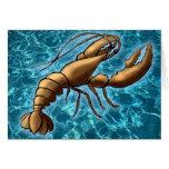 Shrimp Greeting Card