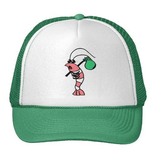 Shrimp Hobo Trucker Hat