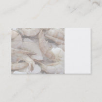 shrimp on ice business card