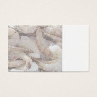 shrimp on ice business card