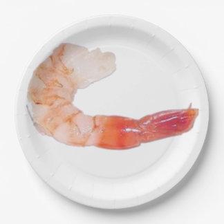Shrimp/Prawn Paper Plate