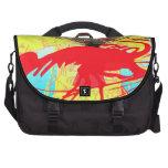 shrimp silhouette laptop bag