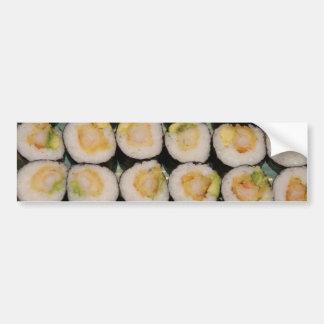 Shrimp Tempura Sushi Bumper Sticker