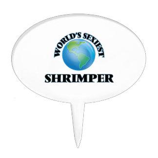 Shrimper más atractivo del mundo decoraciones de tartas