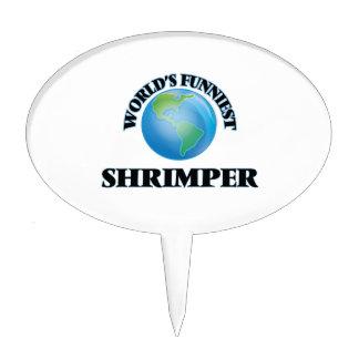 Shrimper más divertido del mundo decoraciones para tartas