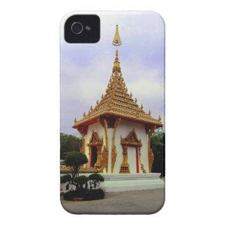 Shrine at 9 Storey Stupa, Khon Kaen iPhone 4 Cover
