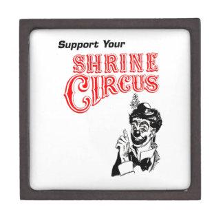 Shrine Circus Clown Premium Trinket Box