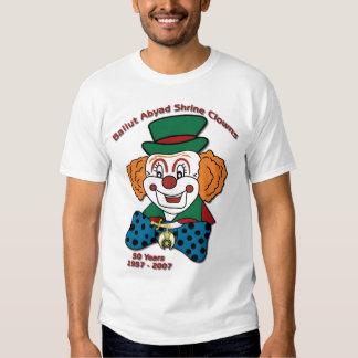 Shrine Clowns -50 Yrs. Shirts