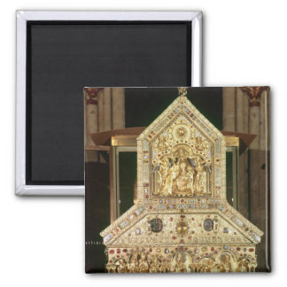 Shrine Containing the Relics 2 Inch Square Magnet