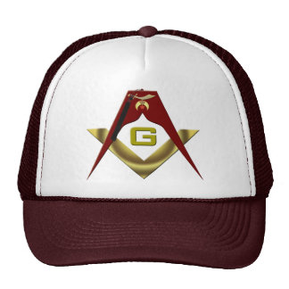 SHRINE-Masons-Fez Trucker Hat