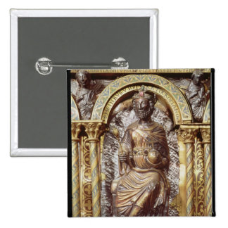 Shrine of Emperor Charlemagne Pinback Buttons