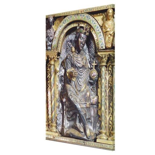 Shrine of Emperor Charlemagne Canvas Prints
