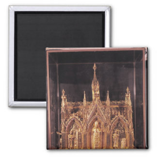 Shrine of St. Taurinus, 1240-55 2 Inch Square Magnet