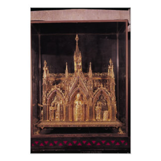 Shrine of St. Taurinus, 1240-55 Poster