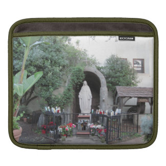 Shrine of the Blessed Mother, Ventura Mission iPad Sleeve