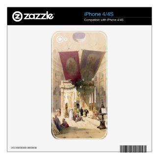 Shrine of the Holy Sepulchre, April 10th 1839, pla iPhone 4S Decals