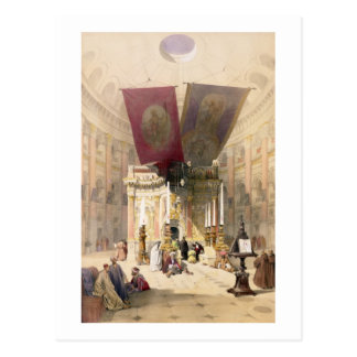 Shrine of the Holy Sepulchre, April 10th 1839, pla Postcard