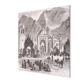 Shrine of the Nuestra Senora de Copacabana Canvas Print