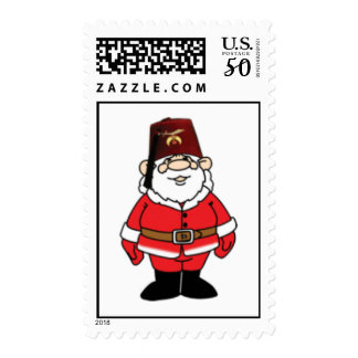 Shrine Santa Christmas Postage
