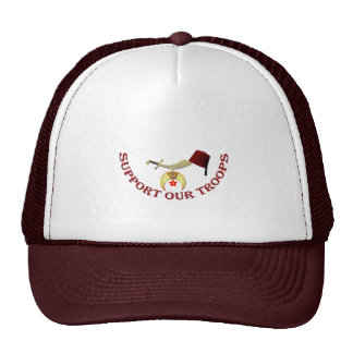 Shrine Support Our Troops Trucker Hat