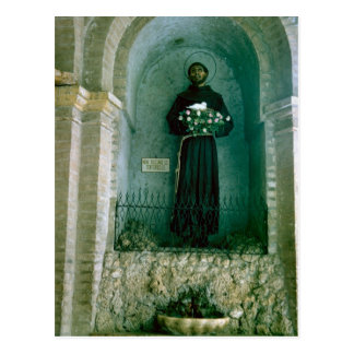 Shrine to St Francis of Assisi Post Card