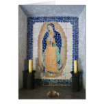 Shrine to the Madonna Greeting Card