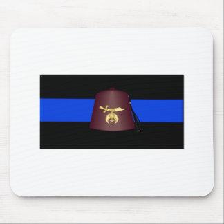 shrineblueline mouse pad