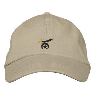Shriner bordó gorra de beisbol